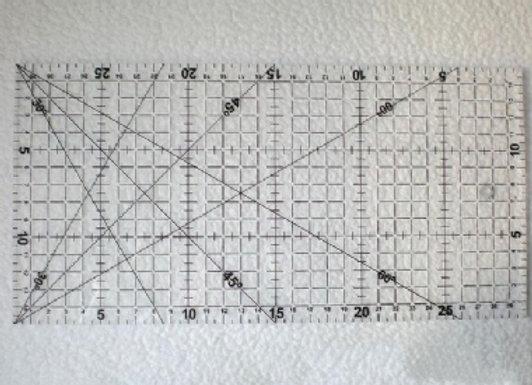 Régua Patchwork 60cm x 15cm
