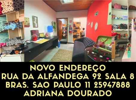 Mudança de endereço loja São Paulo