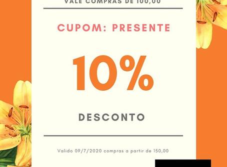 10% desconto 10/7