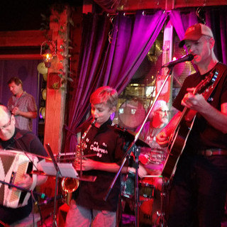 CD release with Sax Man