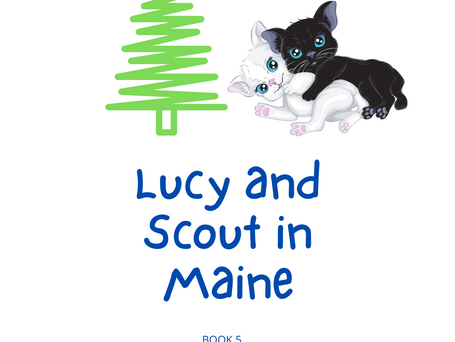 Lucy and Scout in Maine