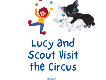 Lucy and Scout Visit the Circus