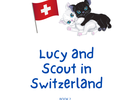 Lucy and Scout in Switzerland