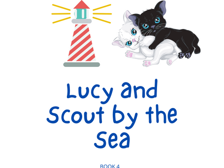 Lucy and Scout by the Sea
