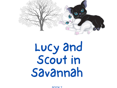 Lucy and Scout in Savannah