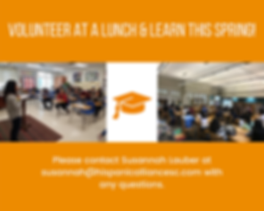 _VOLUNTEER AT A LUNCH & LEARN THIS SPRIN