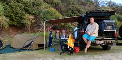 4WD Travel swaging at Teewah