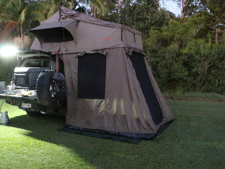 Darche Roof Top Tent - review