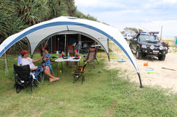 4WD Travel - grass camp sites