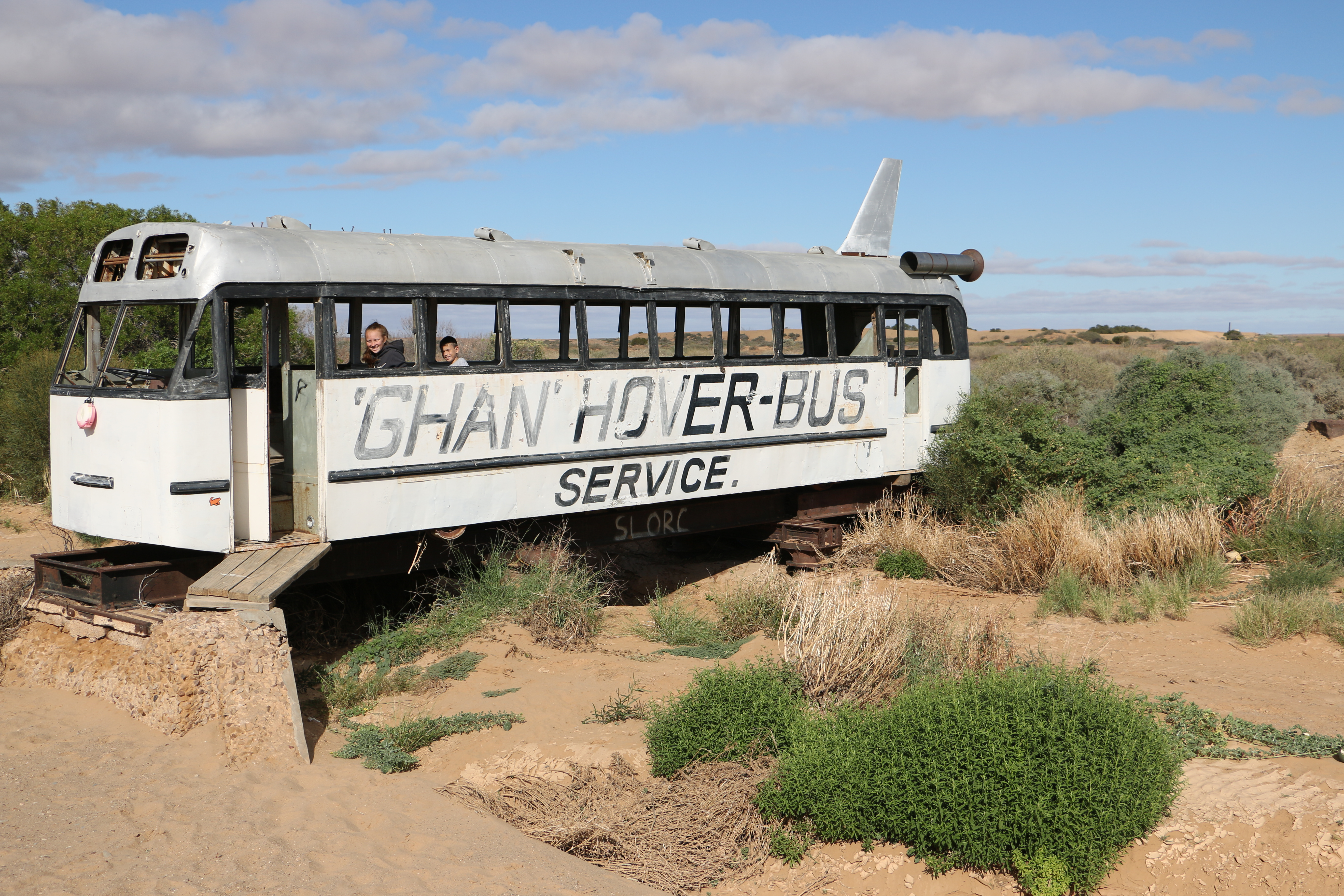 Ghan Hover-bus