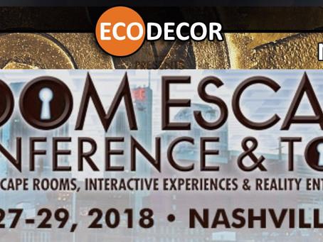 Room escape conference (Nashville, USA)