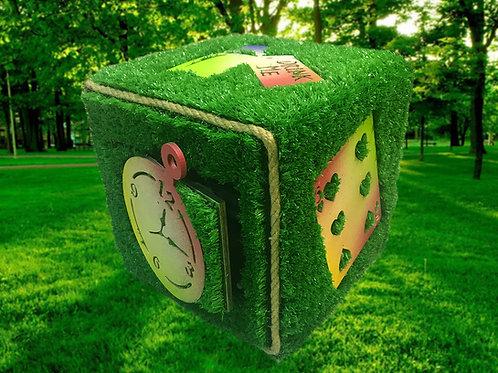 Magic cube escape room prop