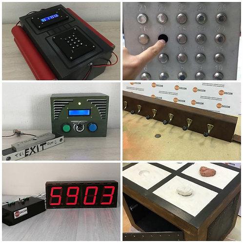Portable room Big bang escape room kit
