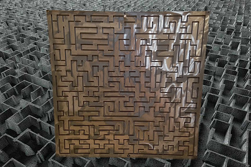 "Metal maze (""ways"") 50*60 cm escape room puzzle"