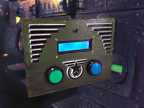 Morse decoder escape room prop