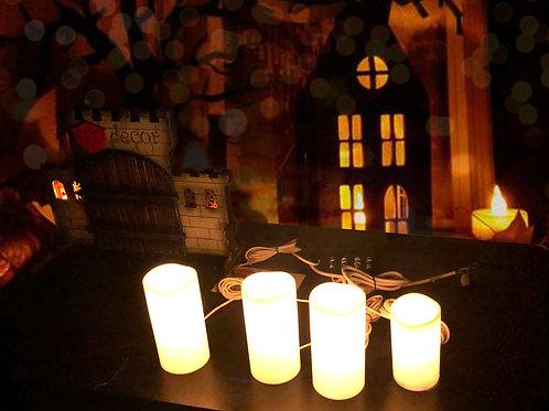Candles (Blow prop) escape room prop