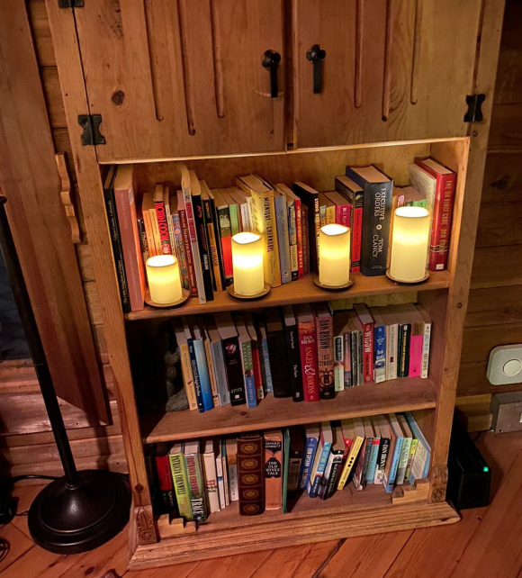 Blow out prop (candles puzzle) in interior