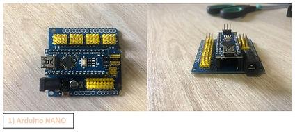 Controller for Escape room. Type 1: Arduino NANO in shield