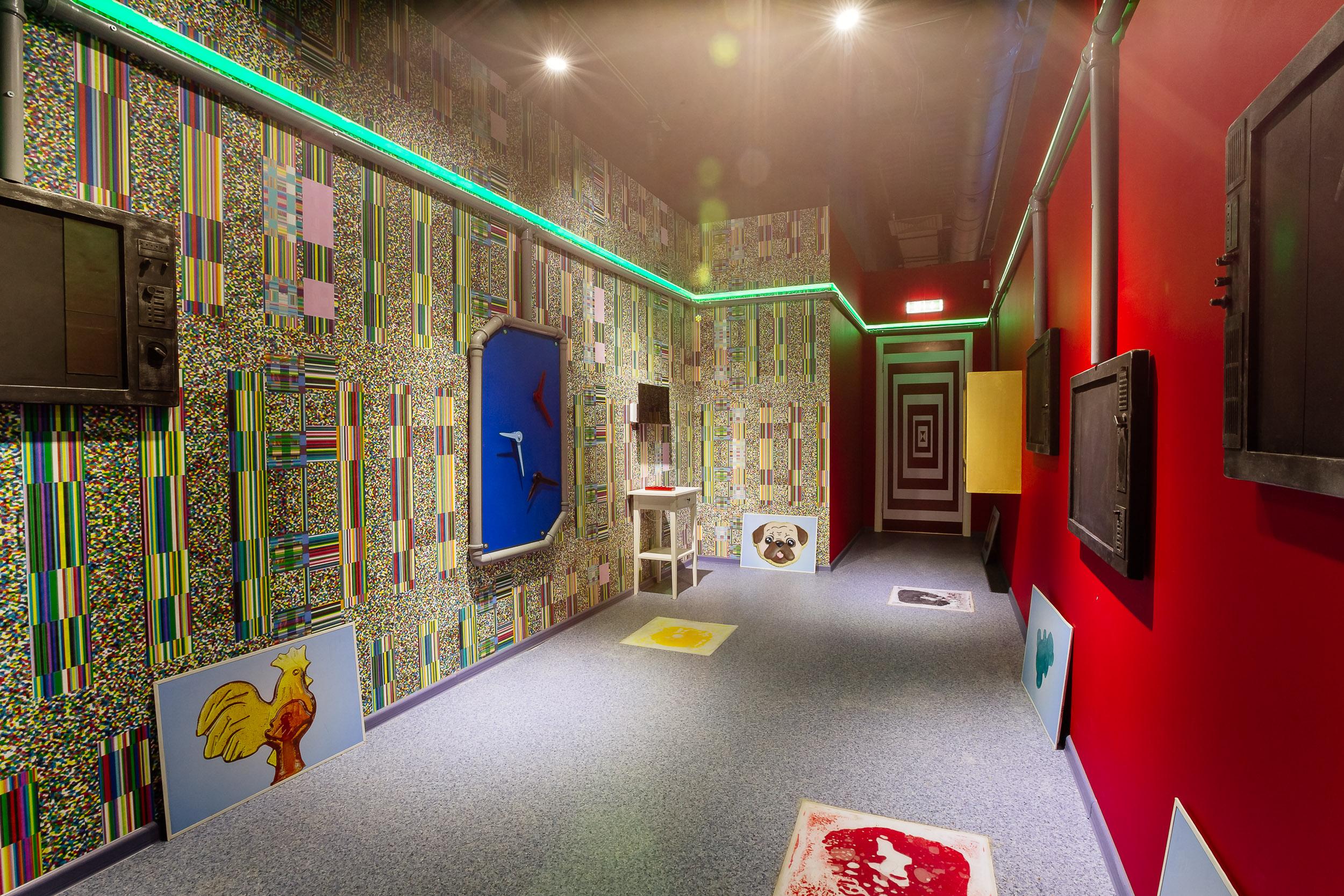 Chocolate room interior
