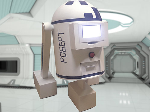 Game robot «Robert» escape room kit