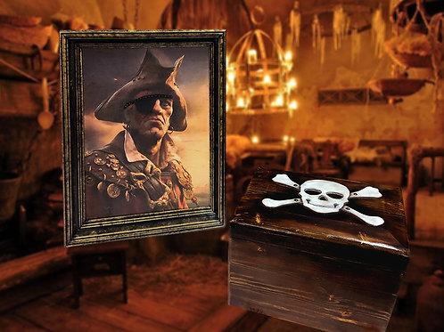 The Pirate's Heart escape room puzzle