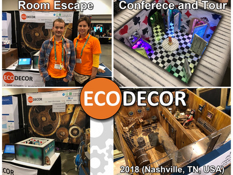 Escape Room conference and Tour 2018