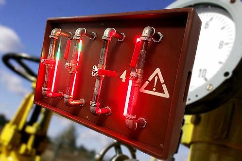 Gas detector escape room prop