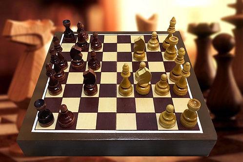 Chess escape room prop