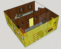 visualisation of escape room