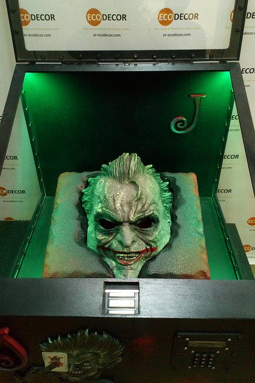 Joker escape room puzzle