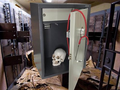Safe prop escape room production