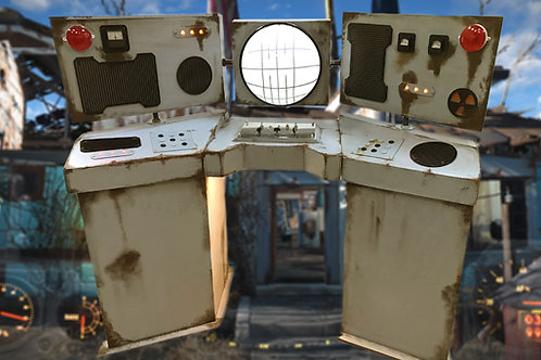 Fallout station escape room prop