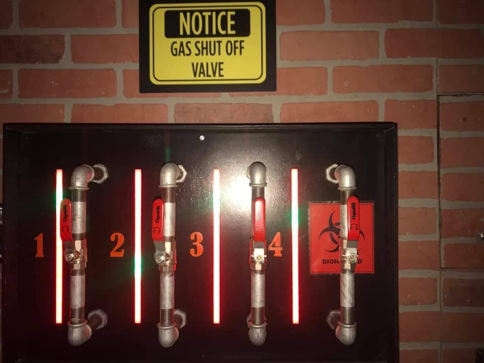 Gas detector puzzle