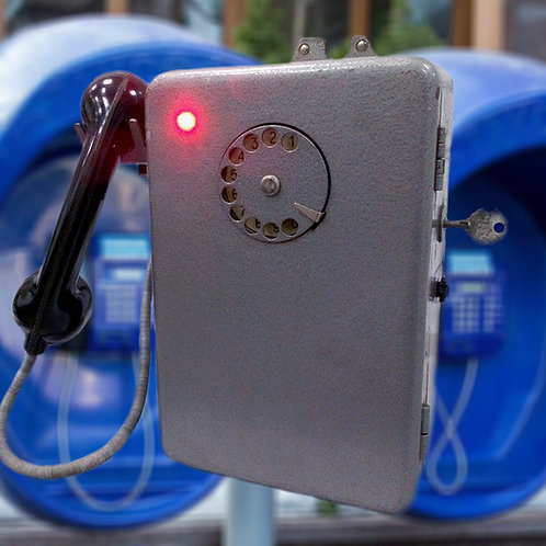 Payphone Intercom (Coin) escape room prop