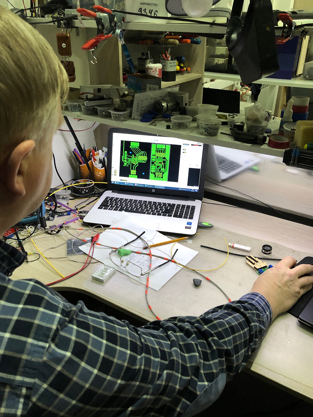 Design process of circuit board