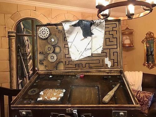 Suitcase Magic creatures escape room puzzle