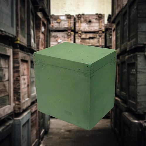 Military USSR box escape room prop