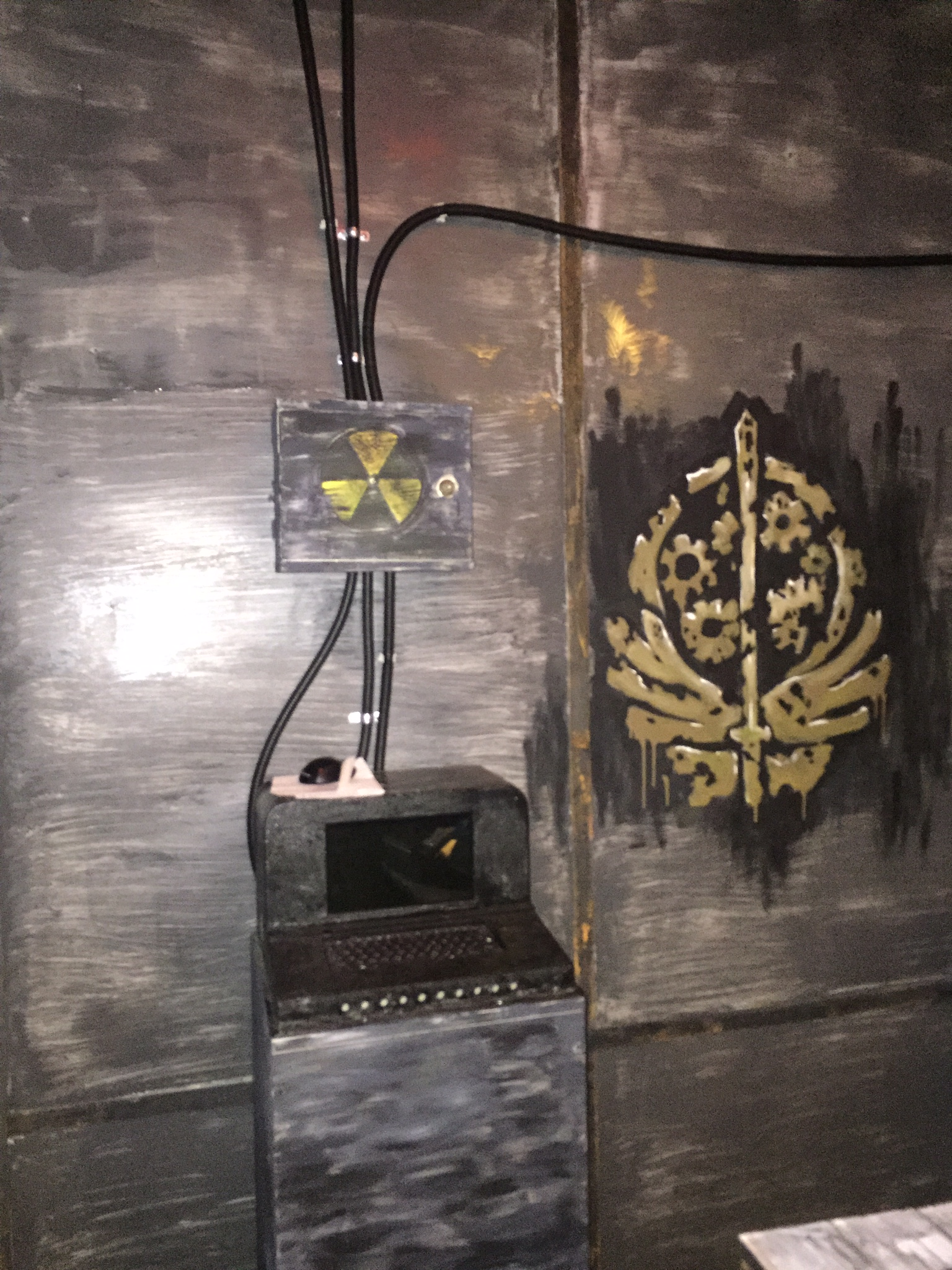 FallOut escape room (terminal)