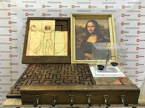 Portable room Secrets of da Vinci escape game