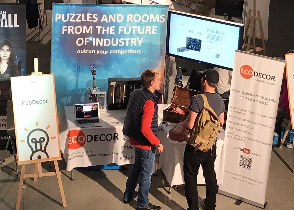 EcoDecor at WRO Escape Room Conference