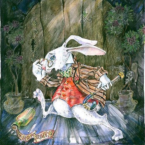 Following the White Rabbit escape game