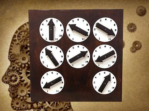 Arrows machine/time machine escape room kit