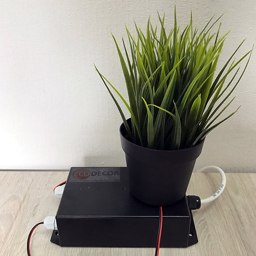 Flowerpot with a water detector escape room furniture