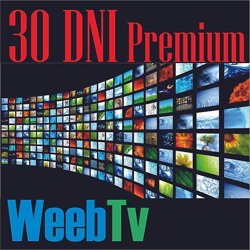 Kod Premium Weeb TV 30 Dni