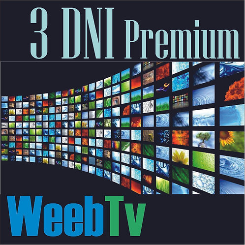 Kod Premium Weeb TV 3 Dni