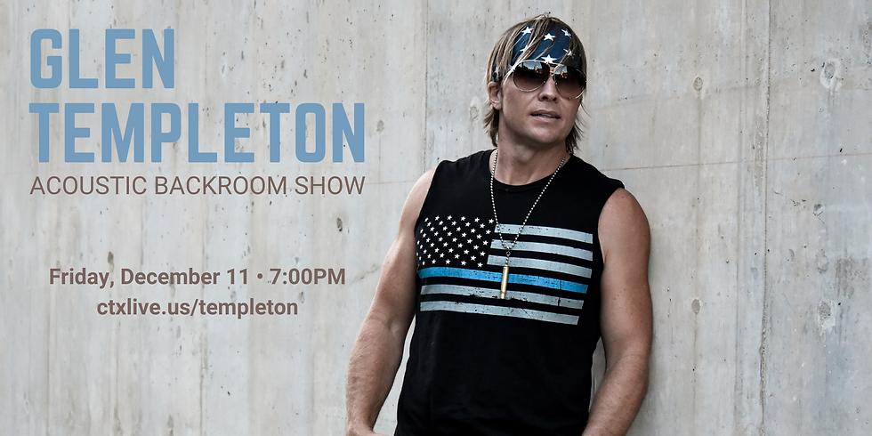 Glen Templeton Acoustic Backroom Show