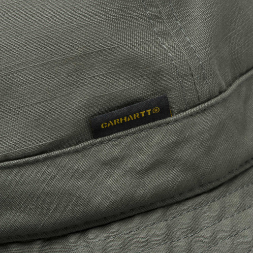 bd22271c0f702a CARHARTT WIP Safari Bucket Hat, Moor. £ 42.00. unstructured - no  reinforcement; unlined ...