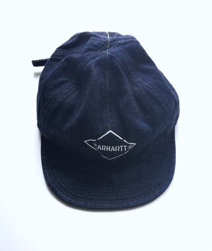 6e568ffc2622fd CARHARTT WIP Booth Cap, Blue Stone Washed
