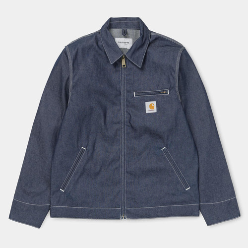 febd7f577047 Carhartt WIP Detroit Jacket, Norco Denim, Blue Rigid