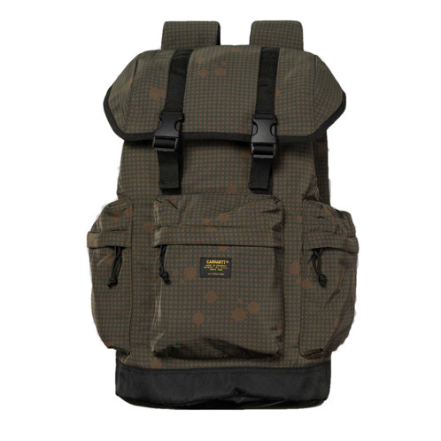 2731df3648 Carhartt WIP Military Backpack, Camo Night, Combat Green/Black